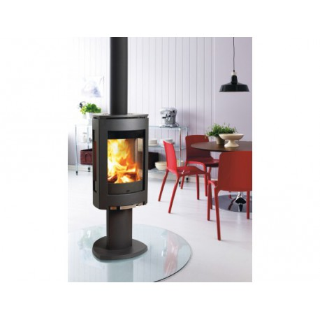 po le bois fonte moderne jotul f370 installation lyon 69. Black Bedroom Furniture Sets. Home Design Ideas