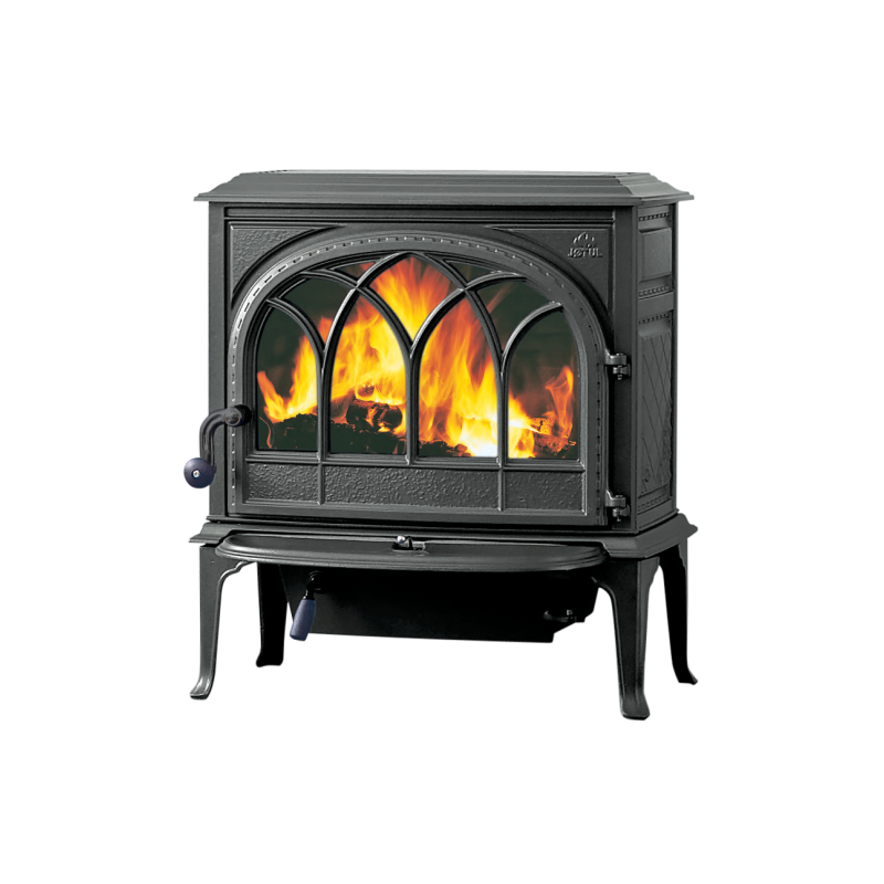 po le bois fonte rustique traditionnel jotul f400. Black Bedroom Furniture Sets. Home Design Ideas