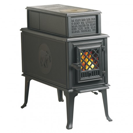 jotul f118 un po le rustique et vintage. Black Bedroom Furniture Sets. Home Design Ideas