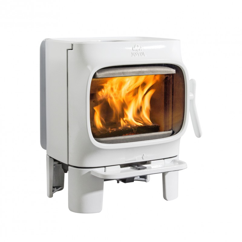 Jotul f 105 small is beautifull for Poele a bois blanc