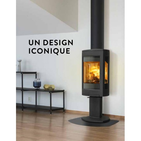 nouveau po le bois fonte moderne jotul f370 advance. Black Bedroom Furniture Sets. Home Design Ideas